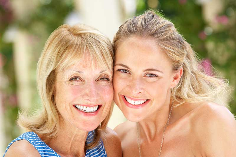 mother and daughter invisalign patient