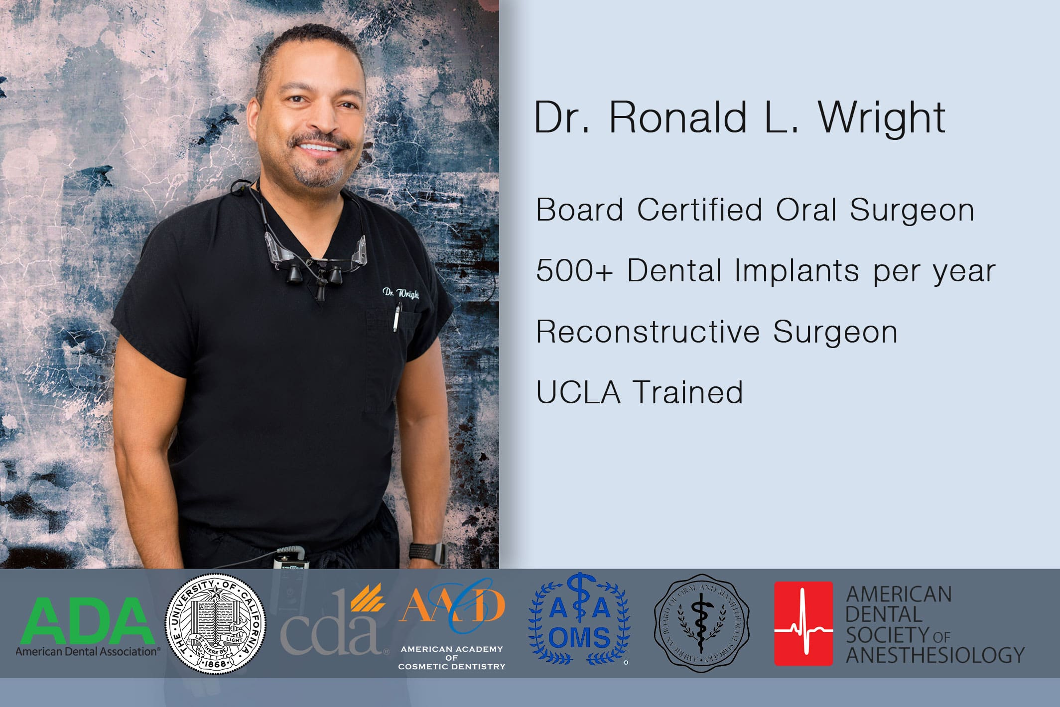 dr.wright credentials