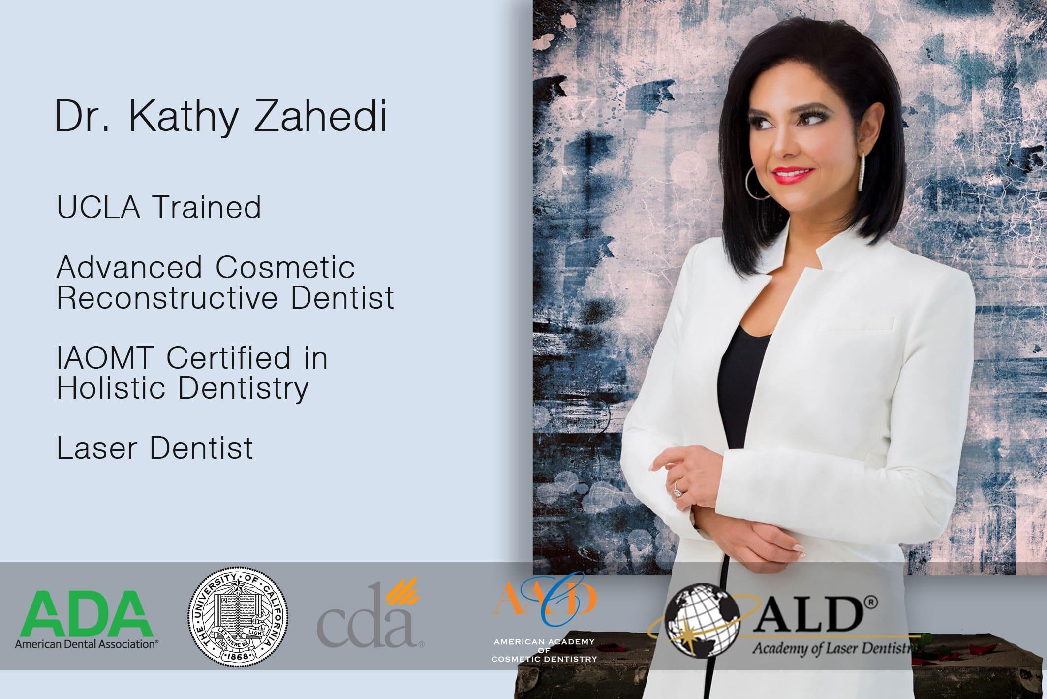 dr. zahedi credentials