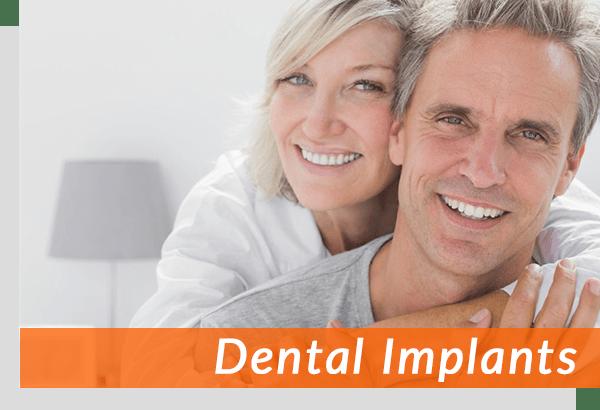 closeup shot of santa monica dental implant patients