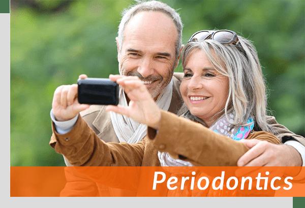 santa monica couple talking selfie together